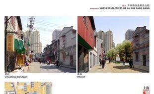 Le projet de reconstruction d'un quartier de Shanghai, vu par l'architecte français Antoine Grumbach