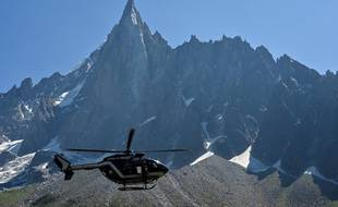 Un hélicoptère de la gendarmerie de haute montage. (illustration)