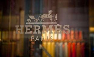Un magasin Hermès à New York (Etats-Unis) en septembre 2010.