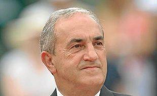 Jean Gachassin, un président agacé.