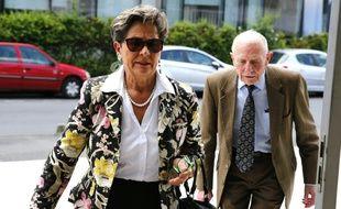 Viviane et Pierre Lambert, les parents de Vincent, à la cour d'appel de Reims le 9 juin 2016