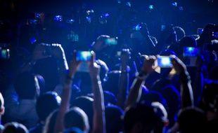 Un concert à Dubaï, septembre 2015.