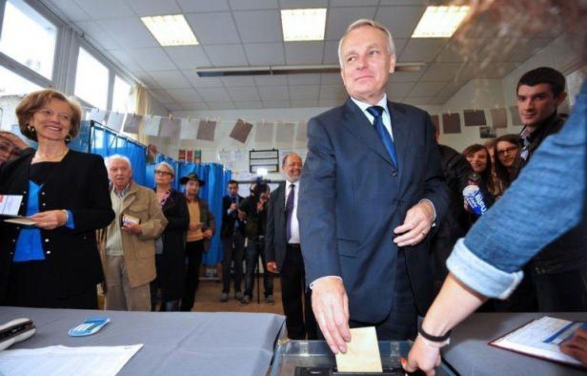 Le Premier ministre socialiste Jean-Marc Ayrault a été réélu dès le premier tour à Nantes dans la 3ème circonscription de Loire-Atlantique où il a été élu député sans discontinuer depuis 1988, a-t-on appris dans son entourage. – Frank Perry afp.com