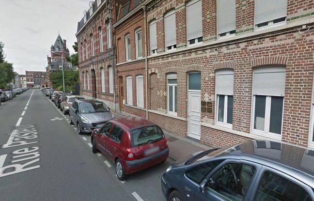 La rue Pasteur, à La Madeleine.