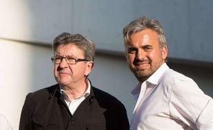 Alexis Corbière, candidat aux législatives dans la 7e circonscription de Seine-Saint-Denis, aux côtés de Jean-Luc Mélenchon dont il a été le porte-parole lors de la présidentielle. (Illustration)