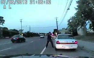 La police du Minnesota a diffusé la vidéo dashcam de la mort de Philando Castile, abattu par un policier en juillet 2016.