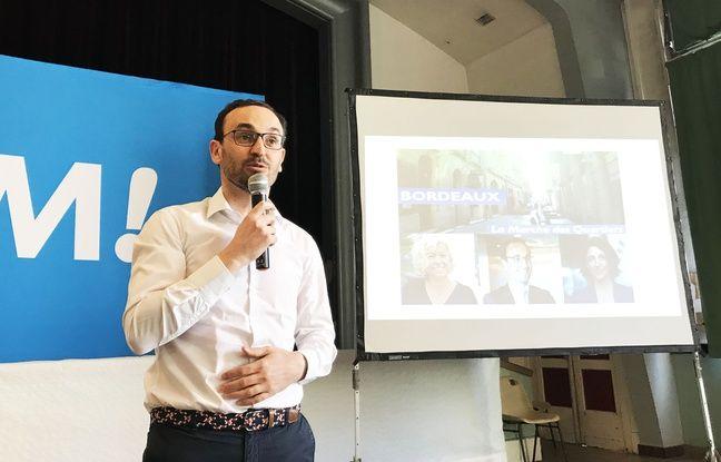 Municipales 2020 à Bordeaux: Le délégué interministériel Thomas Cazenave investi par LREM
