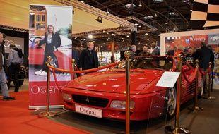 La Ferrari 512 TR a été vendu aux enchères 240.000 euros.