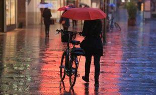 Depuis le mois d'octobre, il pleut en moyenne plus d'un jour sur deux à Nantes.
