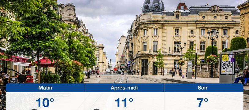 Météo Reims: Prévisions du vendredi 25 septembre 2020