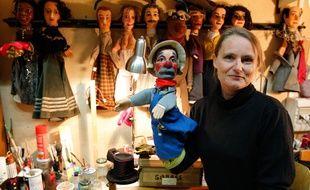 Stéphanie LEFORT, directrice du théatre de Guignol, le 30 octobre 2012. CYRIL VILLEMAIN/20 MINUTES