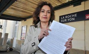 Sylviane Bulteau, candidate PS en Vendée.