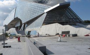 Lyon, le 1er octobre 2014 Vue du musée des Clonfluences qui doit ouvrir au grand public le 20 décembre 2014