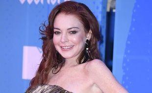L'actrice, chanteuse et femme d'affaires Lindsay Lohan