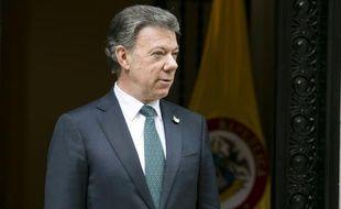 Le président colombien Juan Manuel Santos, à New York le 1er octobre 2015