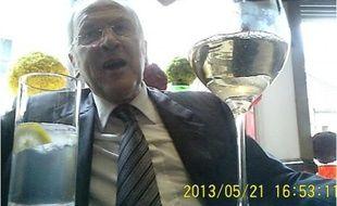 Capture d'écran de la vidéo dans laquelle Lord Cunningham propose ses services à un lobby en échange d'argent.