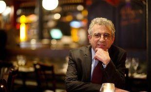 Jean Baubérot, historien et sociologue, spécialiste des questions de laïcité, dans un bar à Paris en 2012.