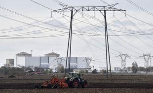 La centrale nucléaire du Blayais (Gironde).