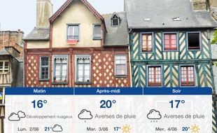 Météo Rennes: Prévisions du dimanche 1 août 2021