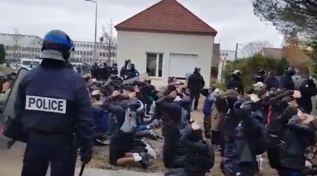 «Voilà une classe qui se tient sage», l'arrestation de lycéens à Mantes-la-Jolie fait scandale