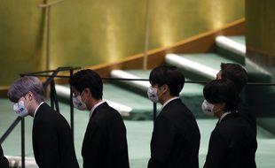 BTS à l'ONU le 20 septembre 2021