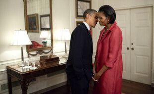 L'ancien président des Etats-Unis Barack Obama et son épouse, l'ancienne First Lady, Michelle Obama