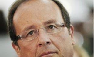 François Hollande, député de Corrèze.