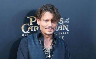 Johnny Depp à l'avant-première de «Pirates des Caraïbes 5» au Disneyland de Shanghai
