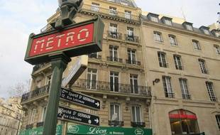 La station Saint-Germain le 4 mars 2014