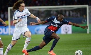 Blaise Matuidi lors du match entre le PSG et Chelsea le 2 avril 2014.