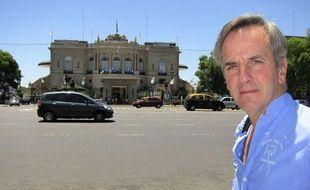 Bernard de la Villardière, en Argentine, en décembre 2010.
