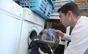 Machine à laver, illustration.