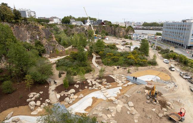 Nantes: Avant l'Arbre aux hérons, belvédères et jardin extraordinaire prennent forme
