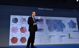 Le directeur général de Cambridge Analytica, Alexander Nix, en septembre 2016.