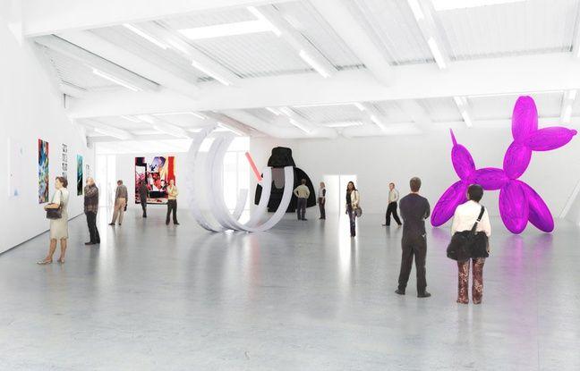 Les oeuvres du Frac seront exposées dans un espace dédié à la future MECA (Maison de l'économie créative et de la culture) d'Aquitaine