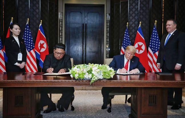 Corée du Nord: Le lieu et la date du sommet Kim-Trump «ont été fixés», l'émissaire américain se rend à Pyongyang