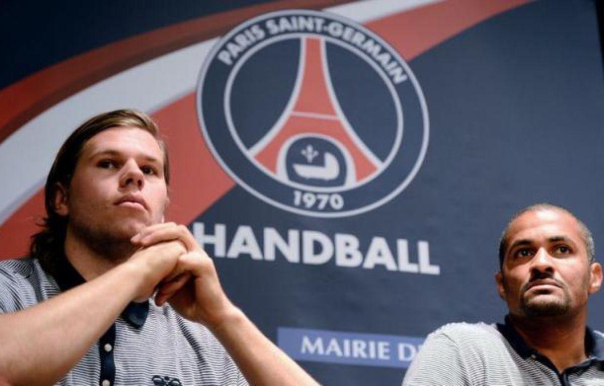 Grande attraction du championnat qui reprend jeudi, le PSG Handball, plus gros budget de France depuis son rachat par le Qatar, veut rapidement devenir le club le plus puissant de la planète. – Franck Fife afp.com