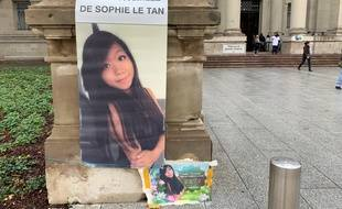 Affaire Sophie Le Tan. Devant le TGI de Strasbourg, le 4 octobre 2019.