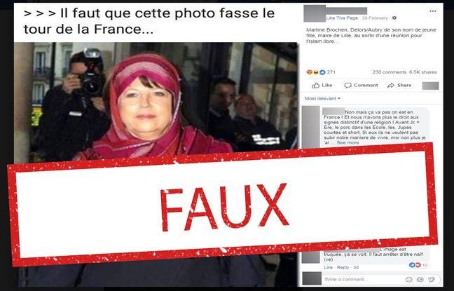 Aubry victime de «fake news» 648x415