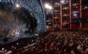 Jimmy Kimmel présente les Oscars, le 4 mars 2018.