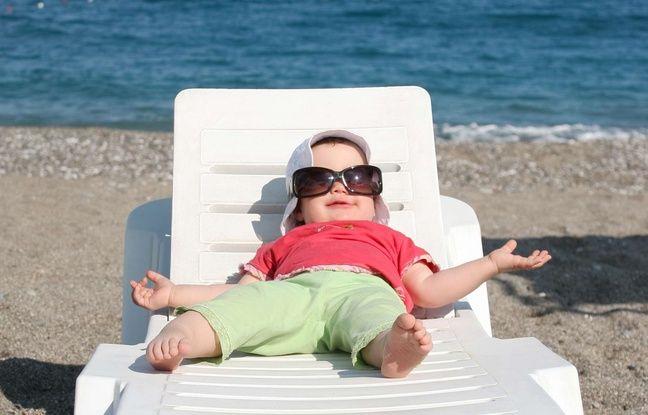 Les enfants doivent porter des lunettes de soleil dès l'âge de 6 mois.