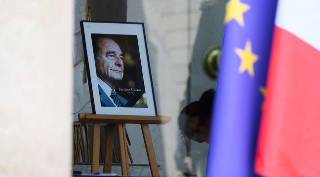 """Résultat de recherche d'images pour """"cérémonie d'adieu à chirac"""""""