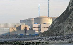 Le site du futur deuxième EPR à Penly, en Seine-Maritime.