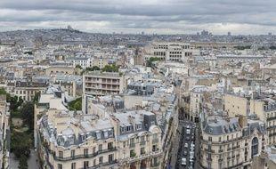 Vue de Paris. (Illustration)