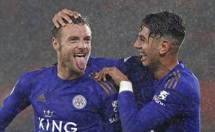 Jamie Vardy et Azoye Perez, le duo déterminant de Leicester.