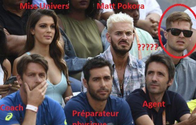 Roland-Garros: De Miss Univers à Matt Pokora, bienvenue dans le box de Gaël Monfils dans actualitas dimanche 648x415_box-champion-league