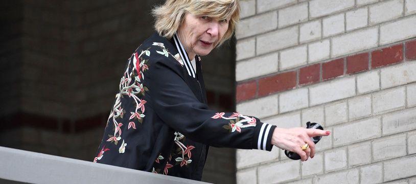 Mimi Marchand au Touquet le 22 avril 2017 (illustration).