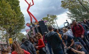 La Techno Parade à Paris le 28 septembre 2019.