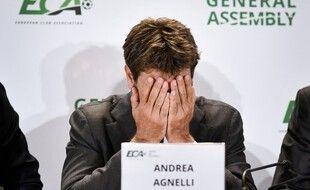 Andrea Agnelli, le président qui veut toujours  faire la Super Ligue.