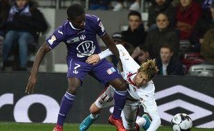 Le TFC de Max-Alain Gradel a maté Jaroslav Plasil et Bordeaux en Coupe de la Ligue, le 12 décembre 2017 à Toulouse.